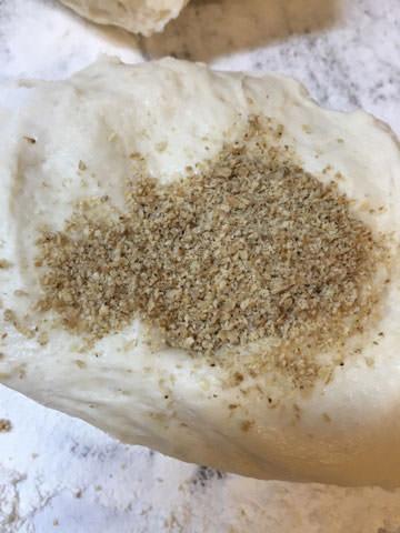 すりごま入りピタパンの作り方