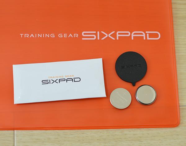 sixpad 電池とオープナー