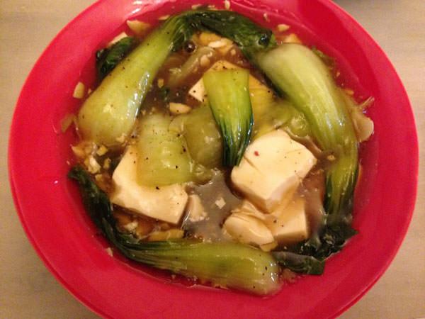 チンゲン菜のオイスターソース煮の作り方