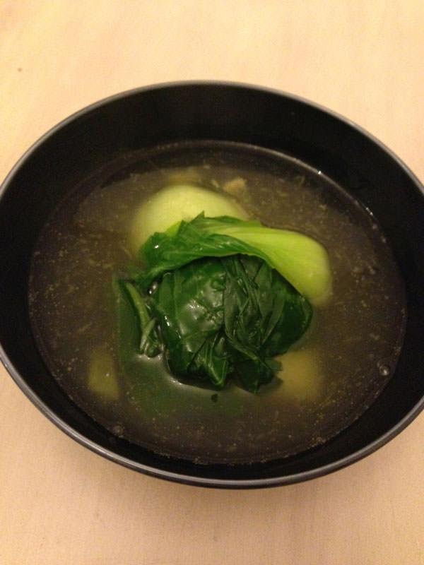 チンゲン菜としょうがの和風とろみかけダイエットレシピ