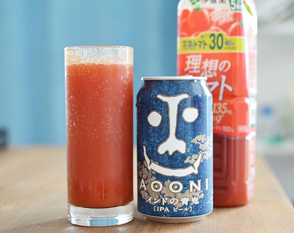 トマトジュース+ビール
