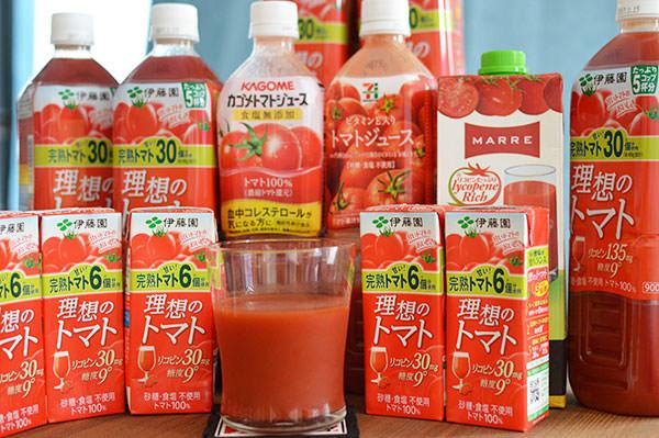 トマトジュースの効果を30日間飲み続けて試してみた【リコピン効果に驚愕】