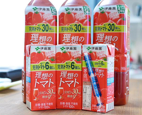 トマトジュースのコスト