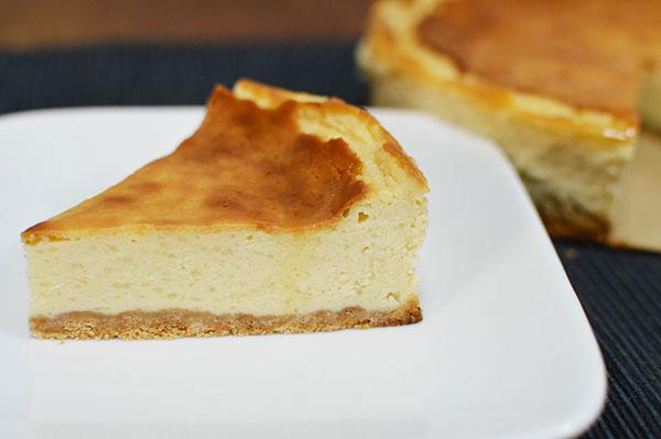 水切りヨーグルトを使ったチーズケーキ