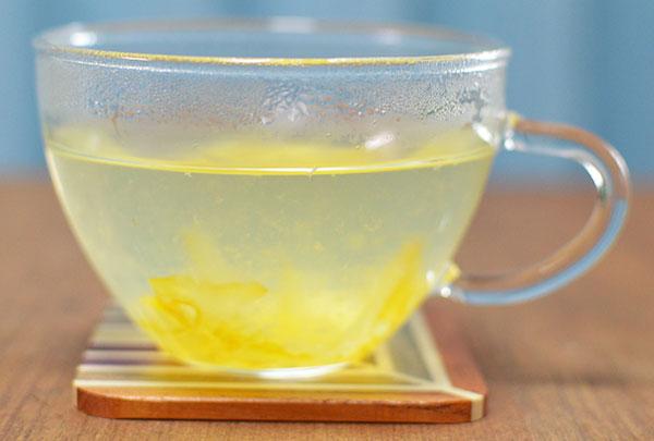 氷砂糖のゆず茶の風味