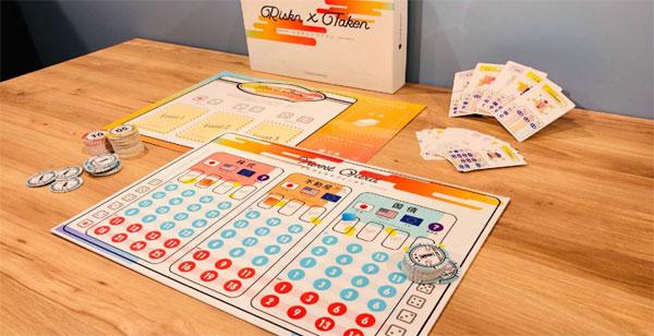 ボードゲーム「Riskn×Taken(リスクン・テイクン)for投資診断士」