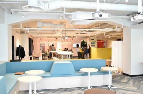 MFSの本社は日本有数のフィンテック拠点FINOLAB内にある